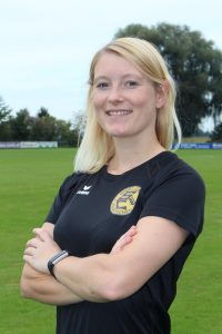 Jugendtrainerin Jasmin Schreiner